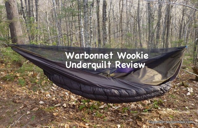 Warbonnet Wookie Underquilt Review