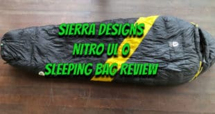 Sierra Designs Nitro UL 0 Sleeping Bag Review