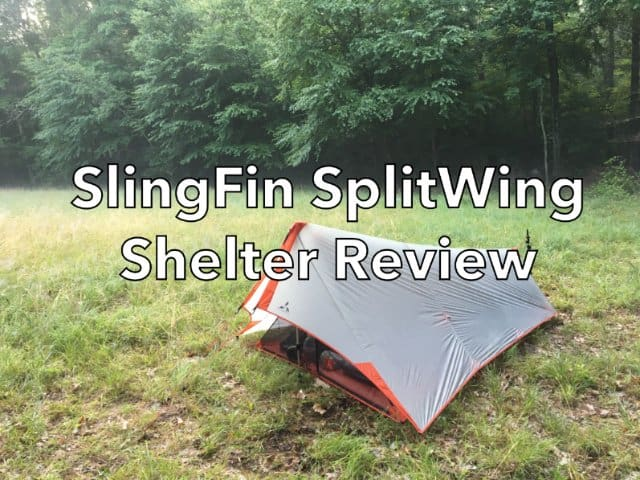 SlingFin SplitWing Shelter Review