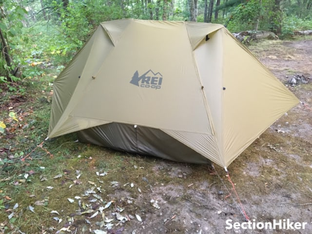 The REI Flash 2 has two doors and two vestibules