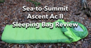 Sea-to-Summit Ascent AC II Sleeping Bag Review