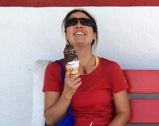 Ice cream in town is often a must for Hiker Trash