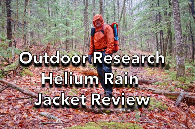 Outdoor Research Helium Rain Jacket Review