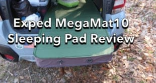 Exped MegaMat 10 Sleeping Pad Review
