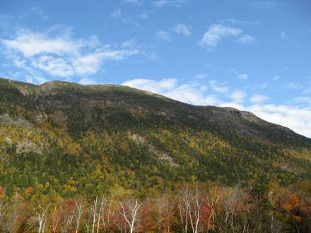 Mt Webster in Autumn - White Mountains