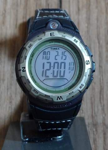 Timex adventure tech digital compass watch section hikers backpacking blog for Adventure watches