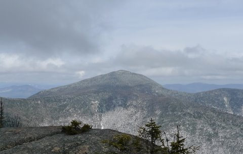 Mt Passconaway from the ledges of Mt Whiteface