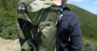 What is an External Frame Backpack  The suspension system on an external  frame pack is a rigid aluminum frame. This is good for carrying very heavy  loads ... 48b5d82c41f3a