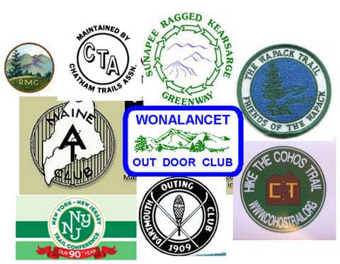 Small Backpacking Club Logos