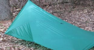 Ultralight Tarp Pitch Pratice